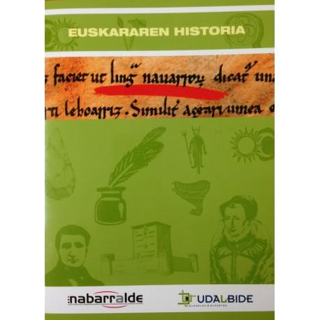 Triptiko/Triptikoa:  Euskararen Historia / Historia Del Euskera