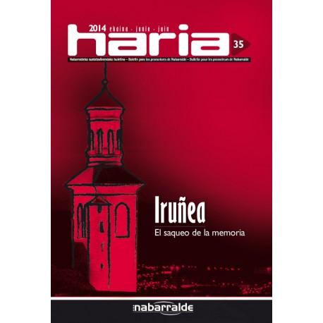 Haria 35 · Iruñea. El saqueo de la memoria