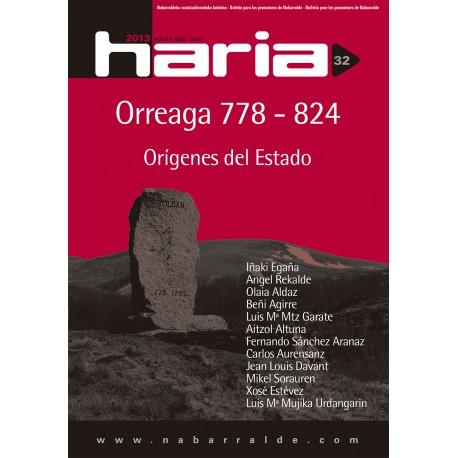 Haria 32 · Orreaga 778 - 824. Orígenes del Estado