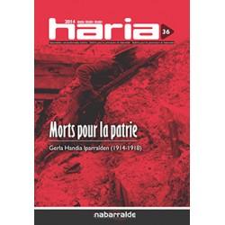 HARIA 36: MORTS POUR LA PATRIE